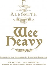 AleSmith Barrel Aged Wee Heavy 2012