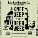 Knee Deep and Track 7 Brewing Collaborate on Knee Deep in Beer Week