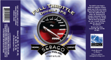 Sebago Brewing - Full Throttle Double IPA