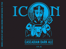 Saint Arnold Icon Blue Cascadia Dark Ale