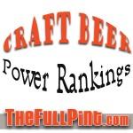 Craft Beer Power Rankings 3-21-13