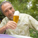 Holy City Brewing – Charlie Papazian Arriving for Iron Brew Competition 4-22-13