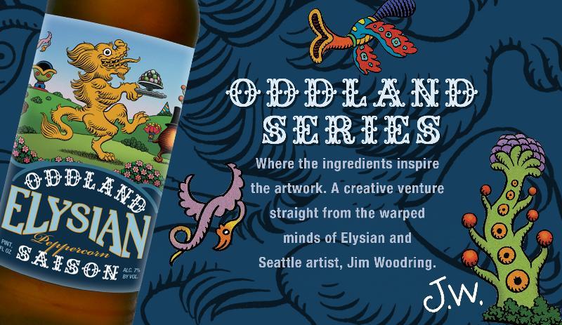 Elysian Oddland Series Peppercorn Saison