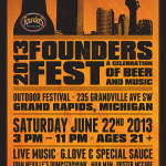 Founders Brewing Co. Announces Founders Fest 2013
