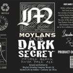 Moylan's Collaborates With Nøgne Ø & Hargreaves Hill On Our Dark Secret Double Black IPA