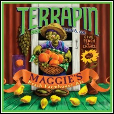 Terrapin Maggie's Peach Farmhouse Ale