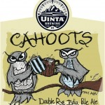 Uinta Cahoots Double Rye IPA – Collaboration With Local Homebrewer Chris Detrick