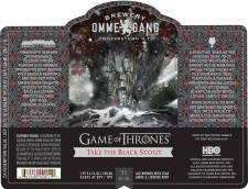 Ommegang Take The Black Stout - Next Game of Thrones Beer On Deck