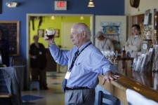 Sen. Cardin at Flying Dog