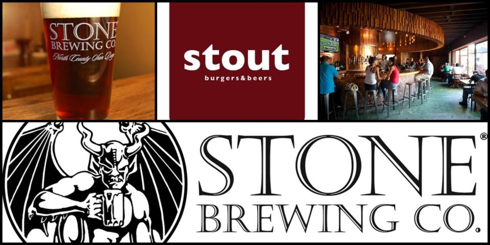 Stone Brewing Co. @ Stout Burgers & Beer