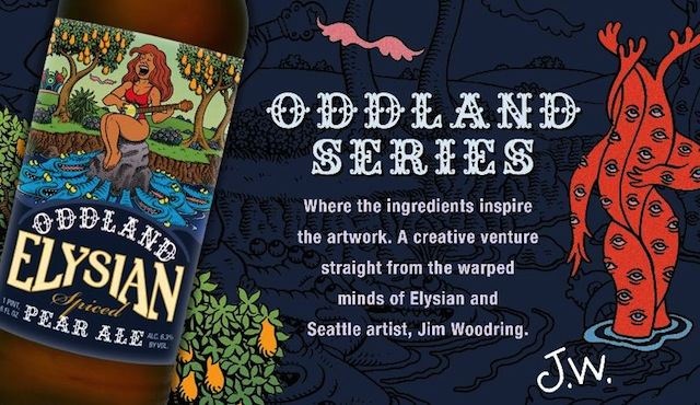 Elysian Oddland Spiced Pear Ale
