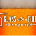 Introducing Glass With a Twist – High Quality Personalized Glassware