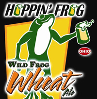 Hoppin Frog Wild Frog Wheat Ale