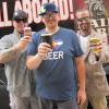 Wynkoop Sales & Distrib' team toasts fans & retailers, 7-18-13