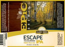 Epic Brewing - Escape To Colorado IPA