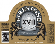 Firestone Walker XVII