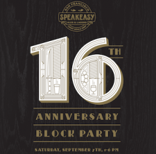 Speakeasy 16th Block Party