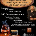 "Beer, Scotch, & Cigar Pairings At Verdugo Bar With Special Guest ""Dr. Bill"" Sysak"