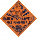 Pike Harlot's Harvest on Draft and 22 oz. Bottles Now