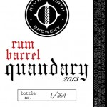 River North Brewery Releases Rum Barrel Quandary Saturday Sept. 28th