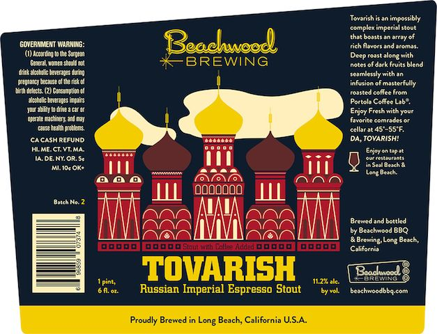 Beachwood Brewing Tovarish
