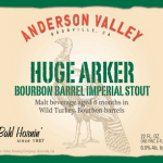 Anderson Valley Releases Huge Arker Imperial Stout
