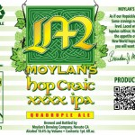 Moylan's Brewery Releases Hop Craic XXXX In Time for SF Beer Week