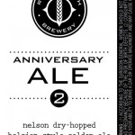 River North Brewery Celebrates 2nd Anniversary With Anniversary Ale #2