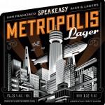 Speakeasy Metropolis Lager – Debuting This SF Beer Week