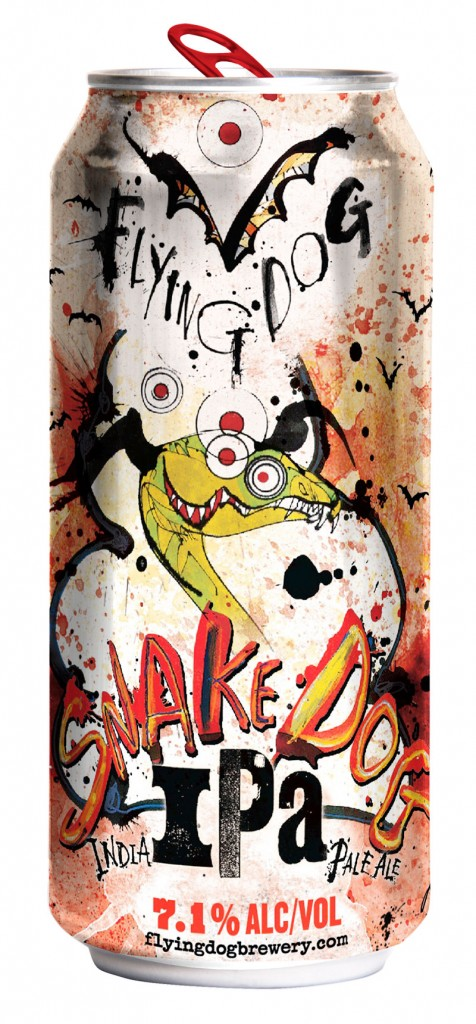 Flying Dog Brewery - Snake Dog IPA (16oz can)