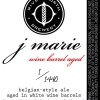 River North Wine Barrel Aged J Marie