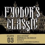 Have Stone IRS Aged In Bourbon Barrels AKA Fyodor's Classic Shipped To Your Door