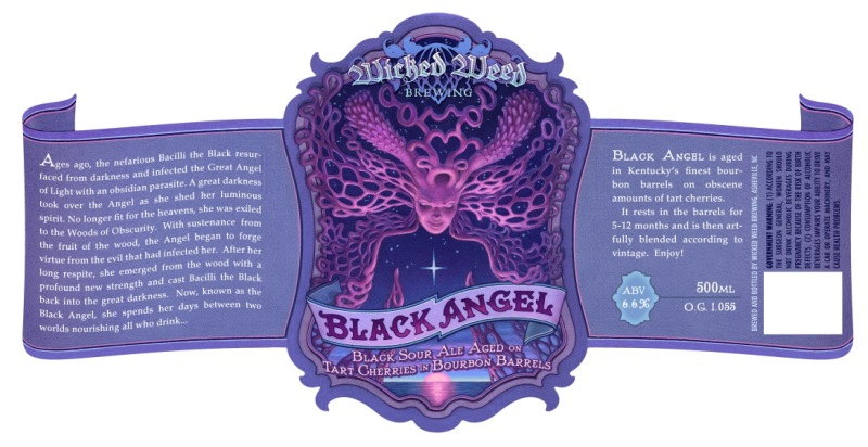 Wicked Weed Brewing - Black Angel