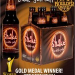 Boulder Beer Shake Chocolate Porter Wins Gold!