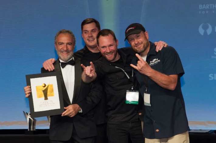 Coronado Brewing with Charlie Papazian at 2014 World Beer Cup