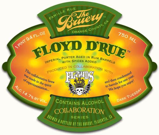 The Bruery Floyd d'Rue