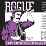 Rogue Dad's Little Helper Black IPA Back For Father's Day