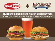 Smashburger + Saint Arnold