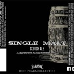 Saranac Brewing Releases High Peaks Single Malt