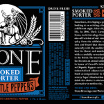 Stone Smoked Porter with Chipotle Peppers 2014