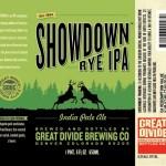 Great Divide Debuts Showdown Rye IPA & Heyday White Ale Alongside Returning Oatmeal Yeti