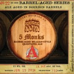 Avery Brewing Co. - 5 Monks Barrel-Aged Belgian-Style Quintupel Ale