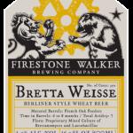 Firestone Walker BarrelWorks Bretta Weisse Release Details