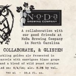 NoDa Brewing Releases Stop, Collaborate and Glisten with Night Shift Brewing