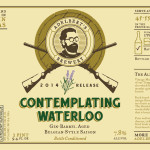 Adelbert's Brewery Releases Contemplating Waterloo