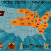 New Holland Brewing - Distribution Map