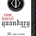 River North Brewery Re-Releases Rum Barrel Quandary