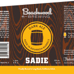 Beachwood Brewing SADIE – Third Barrel Aged Release of 2014
