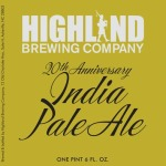 Highland Brewing Releases 20th Anniversary India Pale Ale