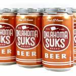 Independence Brewing Co.'s Texas Rivalry Beer 'Oklahoma Suks' Now Available in Cans